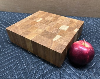 Endgrain White Oak Cutting Board