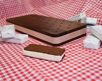 Custom Ice Cream Sandwich Cutting Board