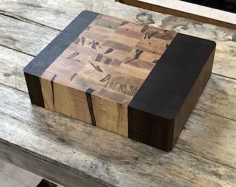 Chunky Ambrosia Maple and Walnut Cutting Board