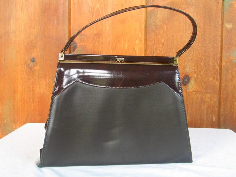 78afafb9b8dc1 Vintage 1960's Brown Handbag by Naturalizer Handbags | Etsy