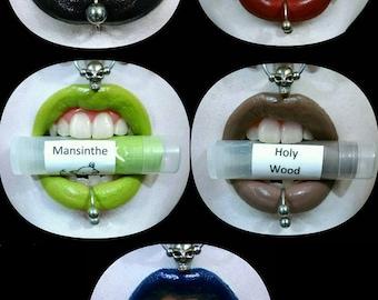 Drac Makens Marilyn Manson Inspired Lipstick Set - 5 Lipsticks - Gothic Lolita Semi Matte Lipstick Bold Unique Colors