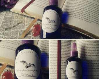 Carmilla - Country Gothic Vegan Perfume Collection - Vampire Gothic Goth - All Natural Handmade