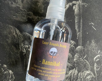 Hannibal - Country Gothic Vegan Perfume Collection - Witch Gothic Goth - Handmade