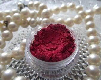 Marilyn - Bright Poppy Red Matte Eyeshadow Organic Vegan