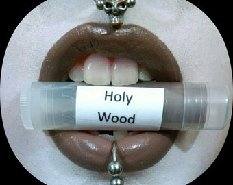 Holy Wood by Drac Makens - Taupe Brown Semi Matte Lipstick - Marilyn Manson Inspired Lipstick Gothic
