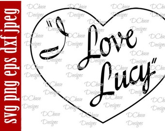 Download Lucy svg | Etsy