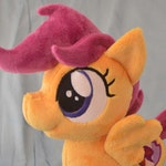 My Little Pony: Friendship is Magic Scootaloo Minky Plush Toy
