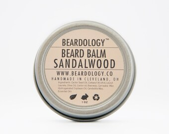 Sandalwood -  All Natural Beard Balm  -  1oz.