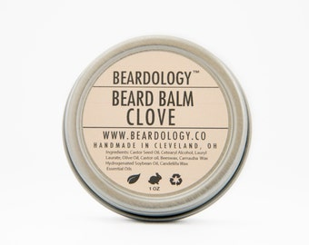 Clove -  All Natural Beard Balm  -  1oz.