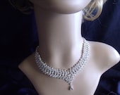 Evening party Occational CRYSTAL BRIDAL SET Jewelry  necklace and earings