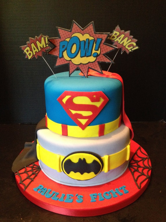 Superhero Cake Decorating Kit
