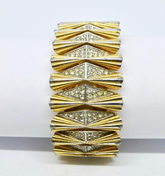 Boucher Golden Cuff Bracelet
