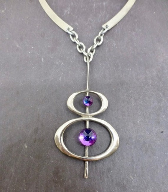Spectacular Space Age Necklace