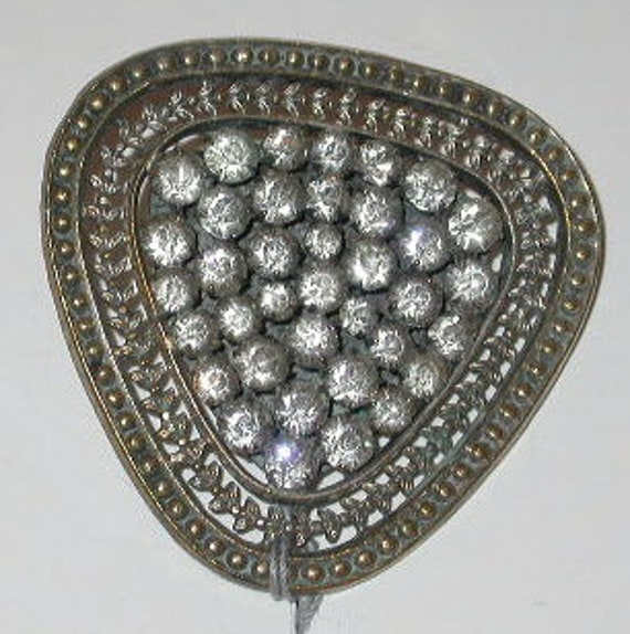Edwardian French Paste Hatpin