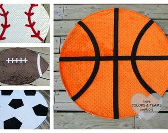 Sports Ball Blankets