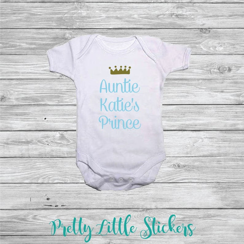 Personalised Any Month Baby Vest Grow Bodysuit Gift New Baby