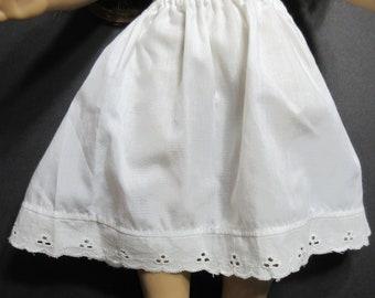 74c99b08bc2 White Doll half Slip Petticoat