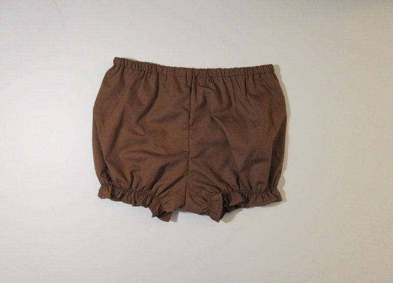 Girl New size 5 Panties cover,Shorts Toddler Bloomers Brown