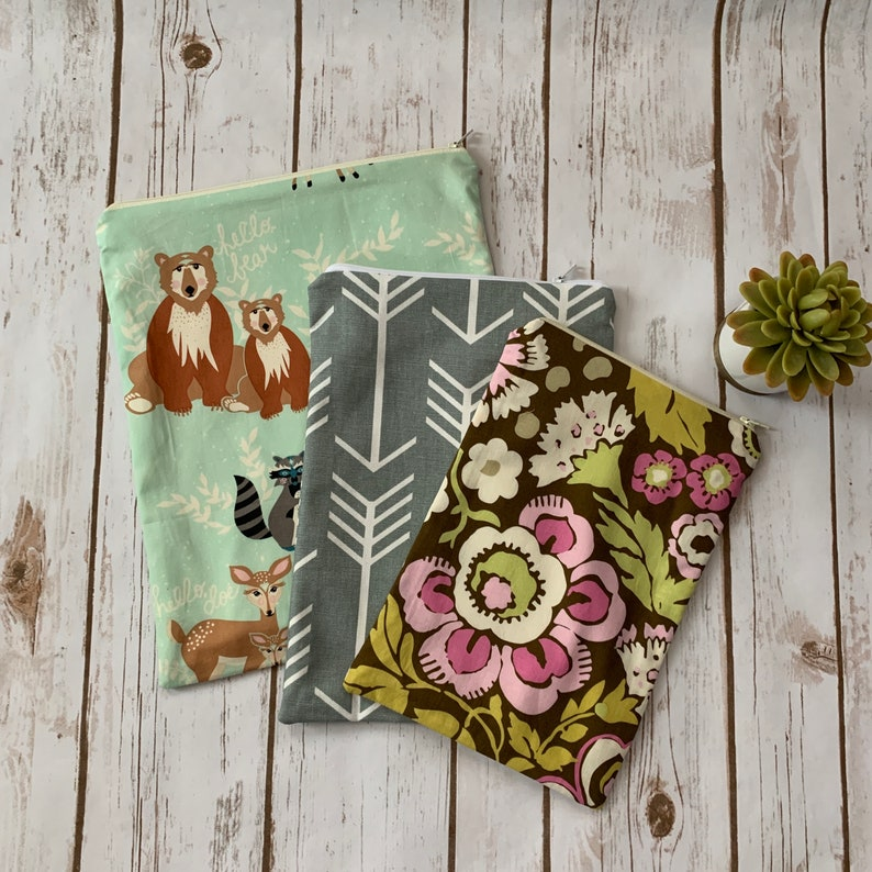 Stay Dry Wet Bag **NEW LISTING** Limited print woodland birds choice of 3 sizes