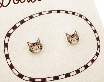 TBKBR18 Brown Tabby Cat pendant