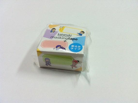 ROUND TOP  katanuki Masking Tape  ic4design   rt-mk-025   Dialogue Box  20mm x 5M