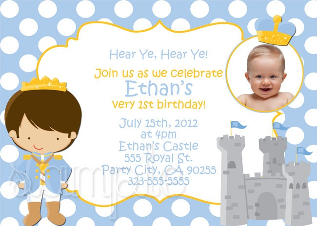Little prince baby shower invitations little prince baby shower.