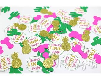 Final Fiesta Confetti, Penis Confetti, Personalized, Cactus Confetti, Bachelorette