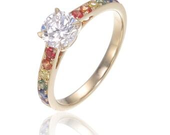 Lesbian Wedding Ring Etsy