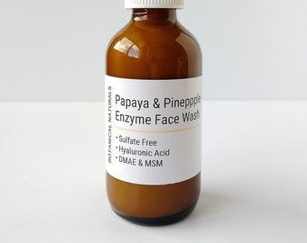 Travel Size, Enzyme Face Wash, Papaya, Pineapple, SLS Free, Travel Size, Sample