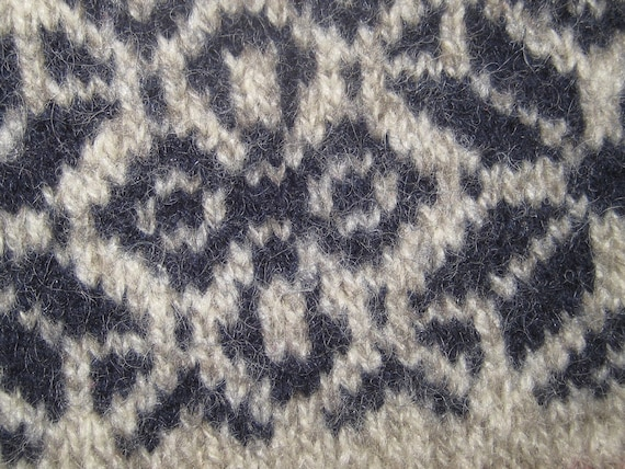 Vintage wool sweater, LL Bean, thick heavy wool p… - image 5