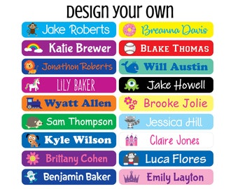 Rainbow Back To School Labels Rainbow School Supply Labels Rainbow Back To School Stickers This Belongs To Labels