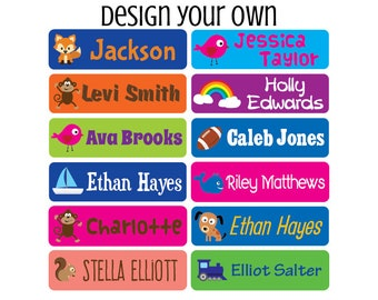 5bb35dee Daycare Labels - Dishwasher safe Labels- Waterproof Labels - Name Labels -  Customized Labels - Name Stickers - Baby Bottle Labels