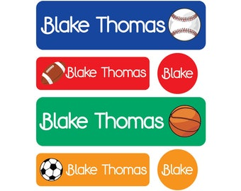 Clear Pacifier Overlays for Mini and Small Round Name Label Labels