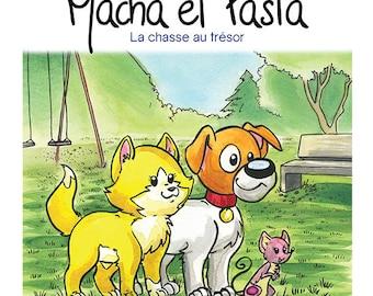 Gift Set Volume 6: Macha et Pasta la chasse au trésor, children book, children edition and collection