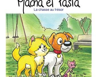 Volume 6: Macha et Pasta la chasse au trésor, children book, children edition and collection