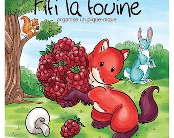 Gift Set Volume 7: Fifi la fouine organise un pique-nique, children book, children edition and collection