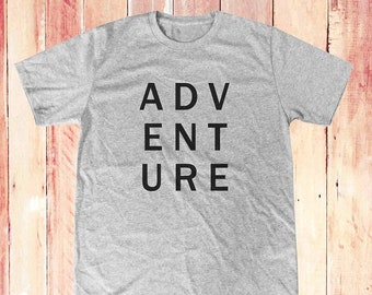 Adventure with me shirt blogger shirt cool tee quote tee funny shirt quote shirt instagram tee graphic tee women top men shirt size S M L
