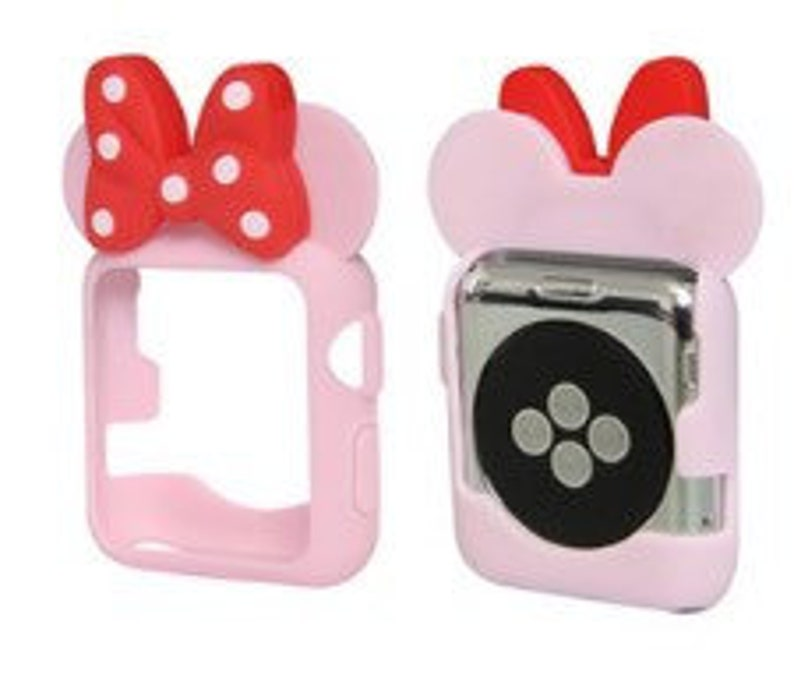 d1df61dd1b Free Shipping! Minnie Mouse Ears. Mickey Mouse Ears. Mickey Mouse Apple  Watch Ears. Apple Watch. Minnie Ears. Minnie Watch. Disney Ears.