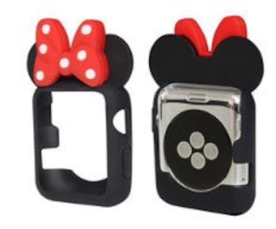 hot sale online 990b3 d9765 Free Shipping! Minnie Mouse Ears. Mickey Mouse Ears. Mickey Mouse Apple  Watch Ears. Apple Watch. Minnie Ears. Minnie Watch. Disney Ears.