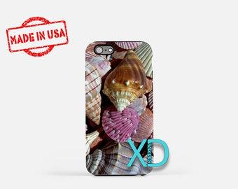 Seashell iPhone Case, Shell iPhone Case, Seashell iPhone 8 Case, iPhone 6s Case, iPhone 7 Case, Phone Case, iPhone X Case, SE Case