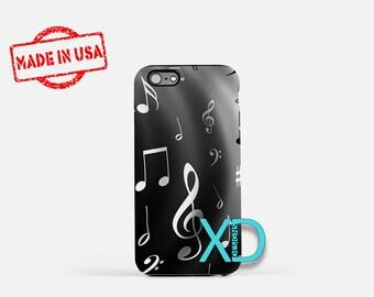 Music iPhone Case, Note iPhone Case, Music iPhone 8 Case, iPhone 6s Case, iPhone 7 Case, Phone Case, iPhone X Case, SE Case Protective
