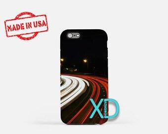 Long Exposure iPhone Case, Highway iPhone Case, Car iPhone 8 Case, Night, iPhone 6s Case, iPhone 7 Case, Phone Case, iPhone X Case, SE Case