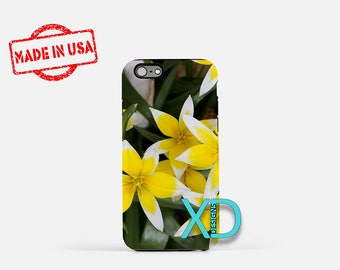 Flower iPhone Case, Yellow Flower iPhone Case, Flower iPhone 8 Case, iPhone 6s Case, iPhone 7 Case, Phone Case, iPhone X Case, SE Case New