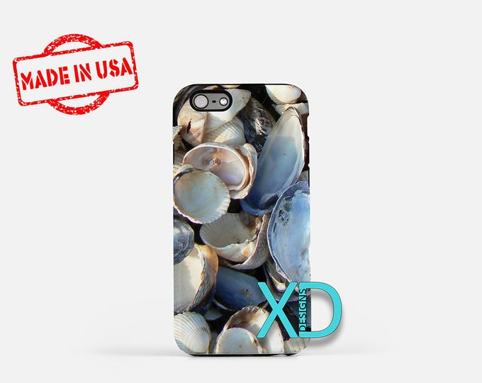 Seashell iPhone Case, Mussel iPhone Case, Seashell iPhone 8 Case, iPhone 6s Case, iPhone 7 Case, Phone Case, iPhone X Case, SE Case New