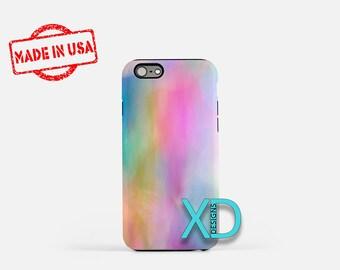Pastel Tie Dye iPhone Case, Pastel iPhone Case, Tie Dye iPhone 8 Case, iPhone 6s Case, iPhone 7 Case, Phone Case, iPhone X Case, SE Case
