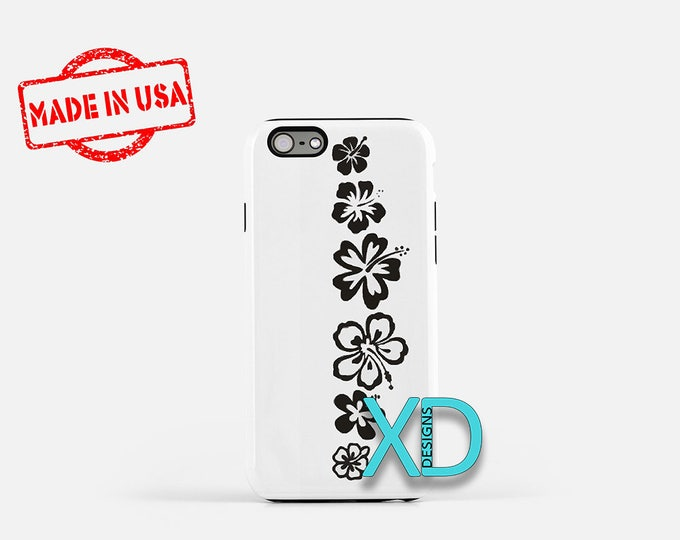 Simple Floral iPhone Case, Tribal Flower iPhone Case, iPhone 8 Case, iPhone 6s Case, iPhone 7 Case, Phone Case, iPhone X Case, SE Case