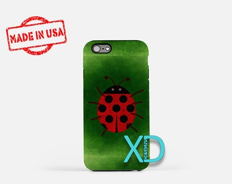 Ladybug iPhone Case, Bug iPhone Case, Ladybug iPhone 8 Case, Insect iPhone, iPhone 6s Case, iPhone 5s Case, Phone Case, Safe Case, SE Case