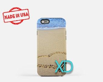 Sand iPhone Case, Heart iPhone Case, Beach iPhone 8 Case, Love, Ocean, iPhone 6s Case, iPhone 7 Case, Phone Case, iPhone X Case, SE Case
