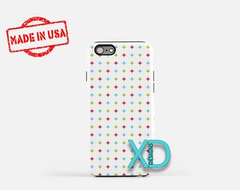 Xmas Sparkle Phone Case, Xmas Sparkle iPhone Case, Twinkle iPhone 7 Case, Rainbow, Twinkle iPhone 8 Case, Sparkle Tough Case, Clear Case