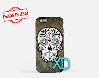 Crazy Skull iPhone Case, Skull iPhone Case, Skull iPhone 8 Case, iPhone 6s Case, iPhone 7 Case, Phone Case, iPhone X Case, SE Case
